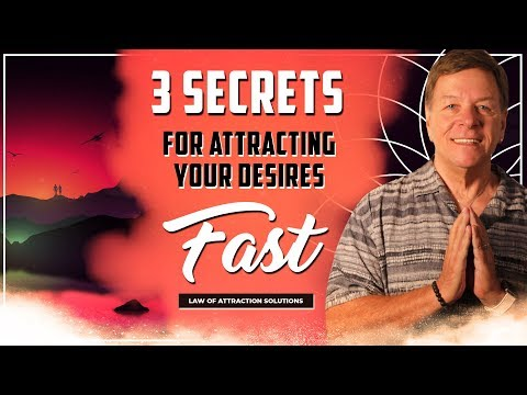 Extremely Powerful ✅ 3 Secrets for Attracting Your Desire - FAST 2019