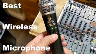Behringer UltraLink ULM300USB Microphone Review and Sound Test