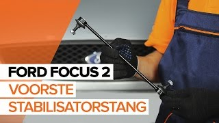 Hoe een voorste stabilisatorstang vervangen op een FORD FOCUS 2 [HANDLEIDING]
