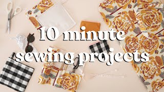 Sewing Projects To Make In Under 10 Minutes | part 5