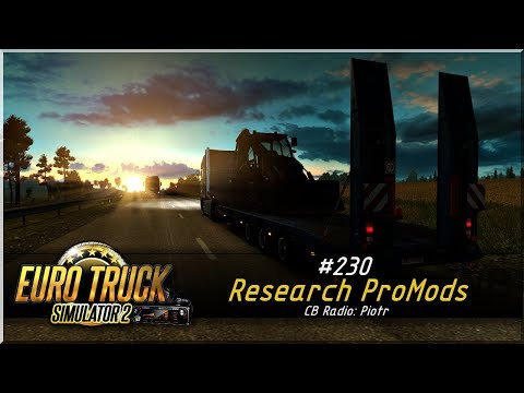 "Euro Truck Simulator 2 - #230 ""Research ProMods"""