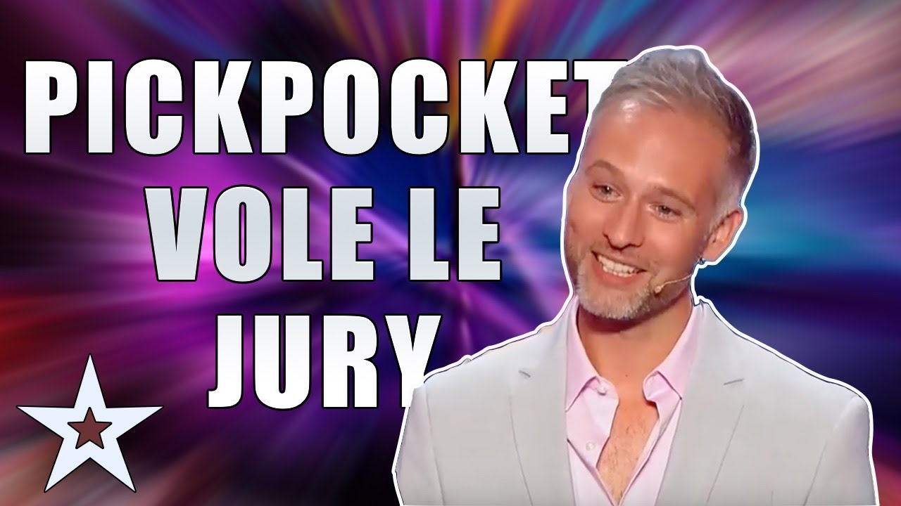 La France A Un Incroyable Talent 2018 Audition Fred Razon Magician Pickpocket Youtube
