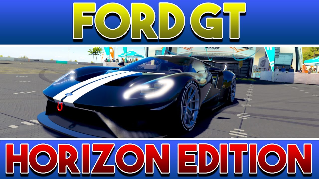Forza Horizon  Der Ford Gt Horizon Edition  German Deutsch