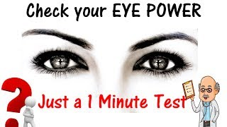 Do you have Sharp Eyes ?? Check It out by Our Ultimate eye test