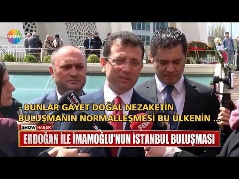 Erdoğan ile İmamoğlu'nun İstanbul buluşması