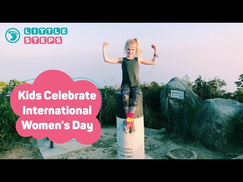 Kids Celebrate International Women's Day
