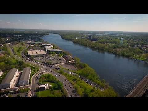 Clips of Trenton, New Jersey from Drone Flight