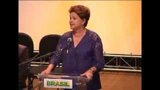 Presidente Dilma Rousseff visita Santa Catarina