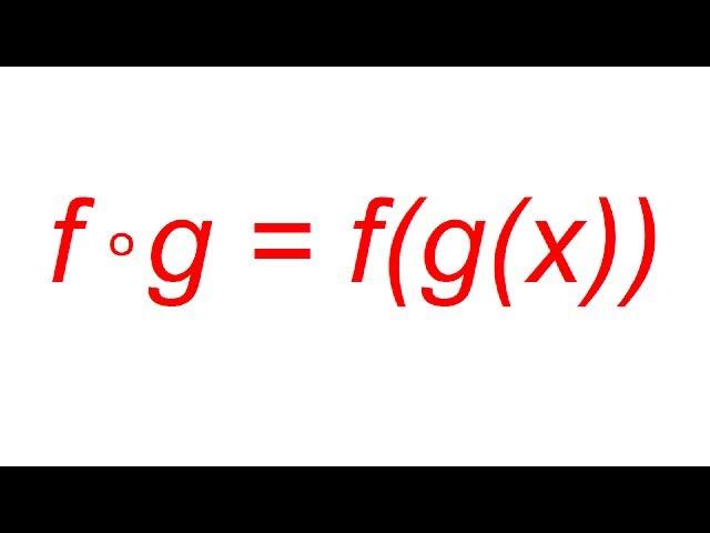 Felsőfok - Analízis - Összetett függvény képzése 1.