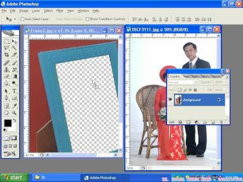 Photoshop CS2 - Phần 3 - Bài 1 - Dựng hình