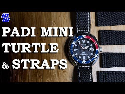 Seiko Srpc41 Mini Turtle And Many Straps Youtube