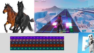 OLD TOWN ROAD - Lil Nas X ft. Billy Ray Cyrus (Fortnite Music Blocks Remake) [With Code]