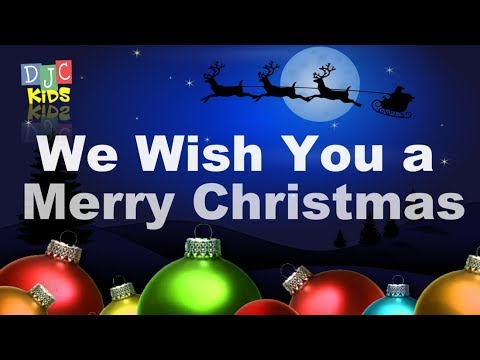 Holiday Classic Songs with Lyrics | We wish you a Merry Christmas