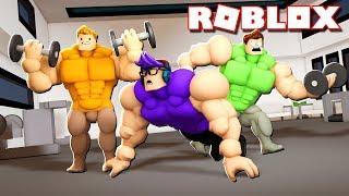 Roblox Adventures - GET BUFF O NO PUEDES SALIR! (Isla del Gimnasio)