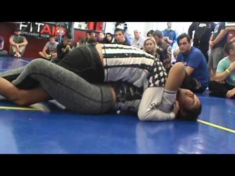 Cora Sek vs CJ Dominguez @ Jiu Jitsu Kumite 13