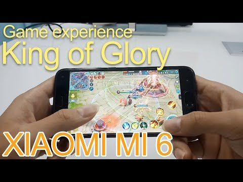 King of Glory Game experience on XIAOMI MI 6