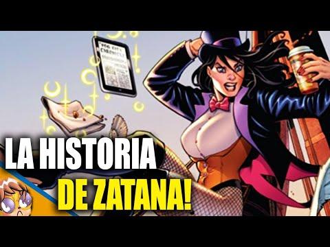 La historia de Zatanna Zatara - Biografias Banana