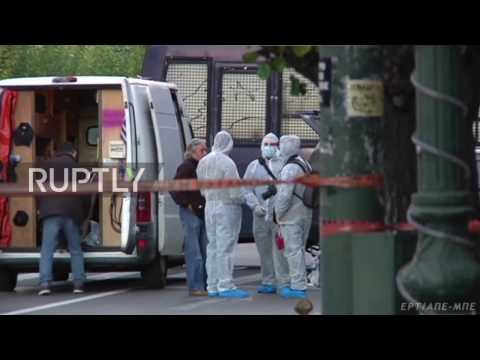 Greece: Small explosion reported outside French embassy in Athens