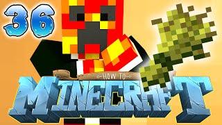 How to Minecraft: 1.8 VILLAGER WHEAT FARM! (36) - w/ Preston (Minecraft 1.8 SMP)