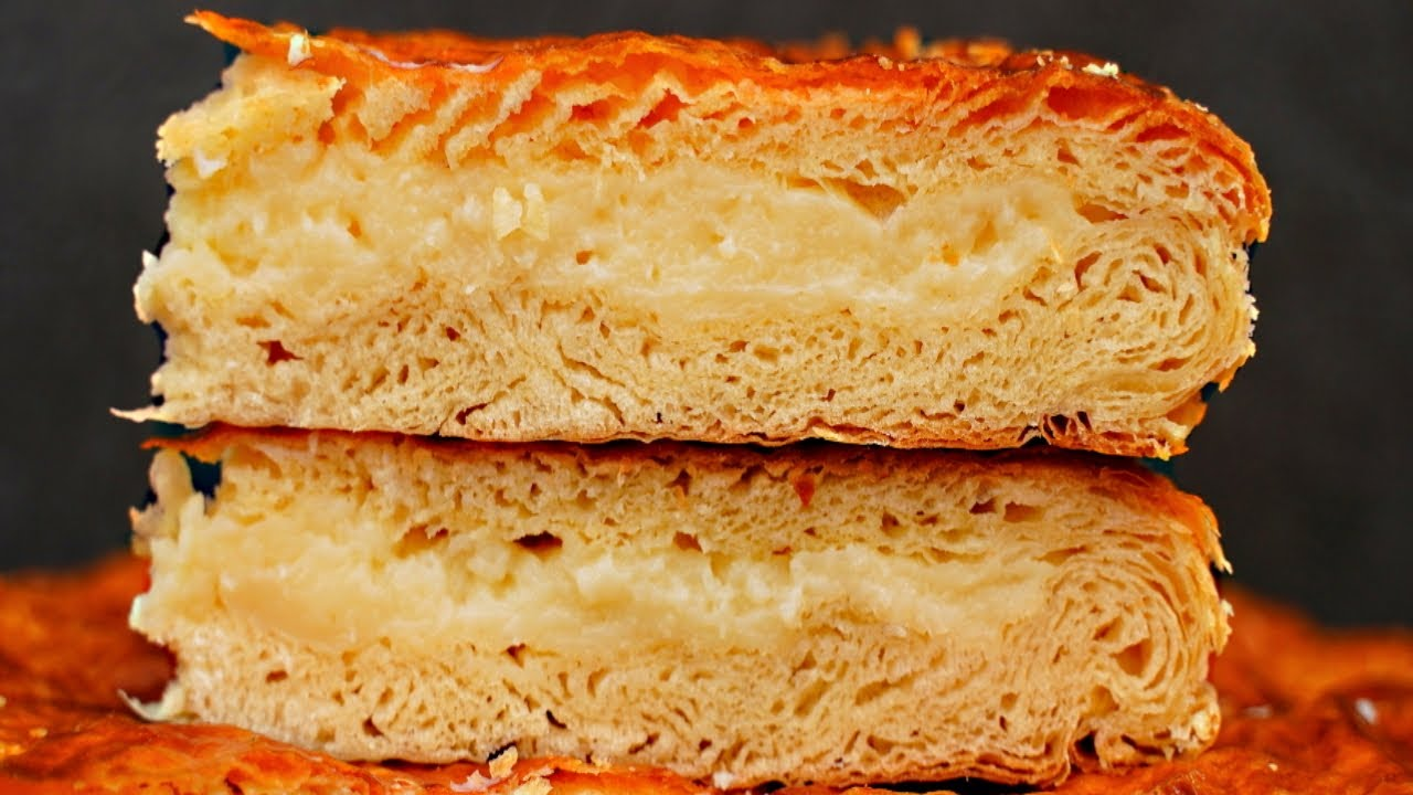 Я в ВОСТОРГЕ от этого ПИРОГА! Очень вкусный пирог с заварным кремом Фытырь / Фатырь