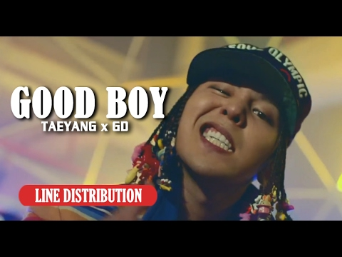 【Line Distribution】GDxTAEYANG - GOOD BOY