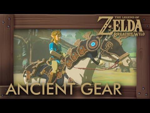 Zelda Breath of the Wild - Ancient Horse Gear Location