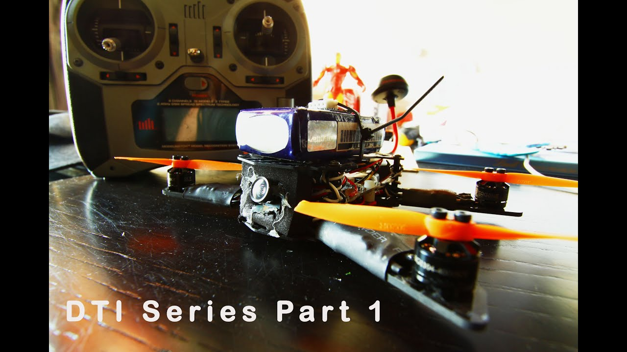 DTI 150 Micro Quad Build Series | Part 1(Parts and Pieces) | - YouTube