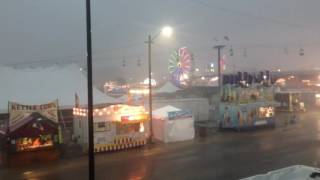 Illinois State Fair Flooded 2016