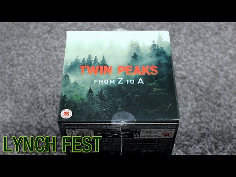 Twin Peaks: From Z To A - Limited Edition Blu-ray Unboxing! | LYNCH FEST 2020