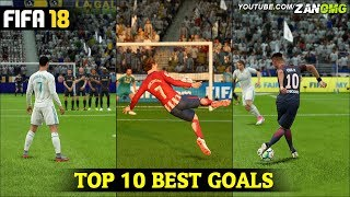 FIFA 17 | TOP 10 BEST GOALS | FT. RABONA, BICYCLE KICK, FREE KICK GOALS & MORE!!! #1