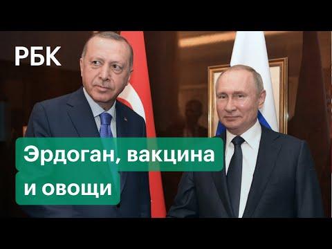Российско-турецкие отношения: Эрдоган в Баку, вакцина и помидоры