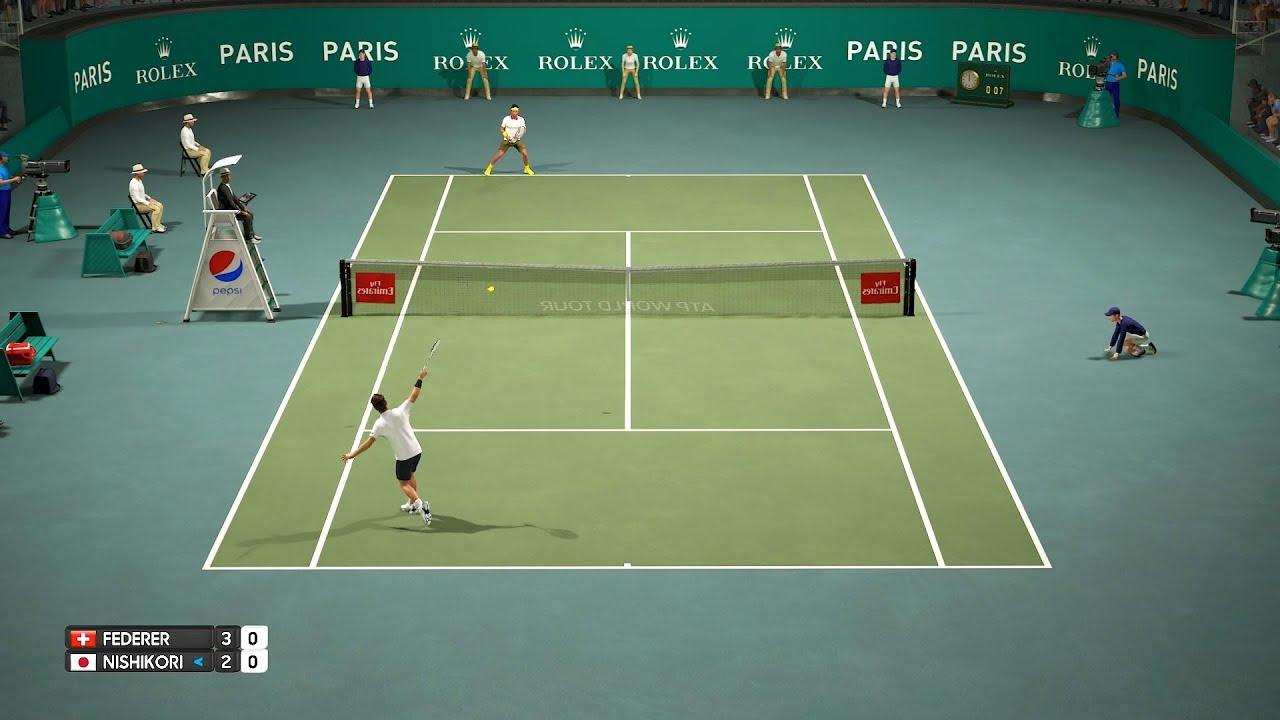 Federer Nishikori