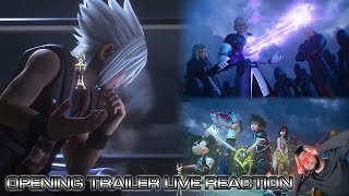 Kingdom Hearts 3 Opening Movie Trailer Live Reaction & Analysis