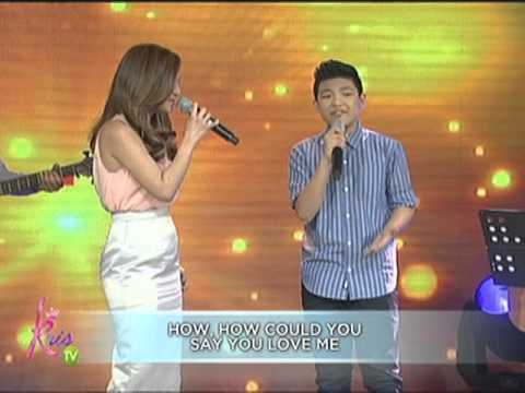 Kyla & Darren sing How Could You Say You Love Me