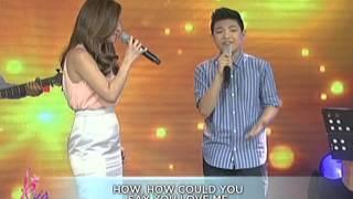 Kyla & Darren sing