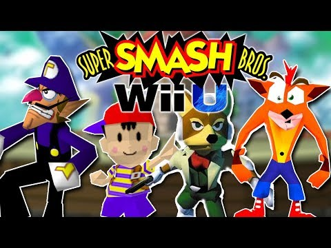 N64 Smash Bros for the Wii U (nostalgic)