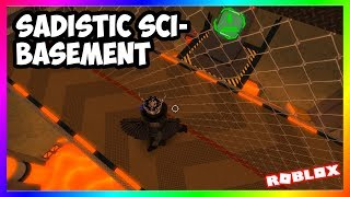 (New Challenge IMO) Sadistic Sci-Basement | Roblox FE2 Map Test