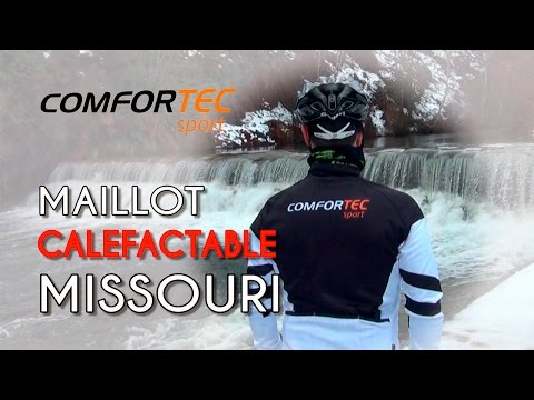 Maillot calefactable Missouri de COMFORTEC Sport
