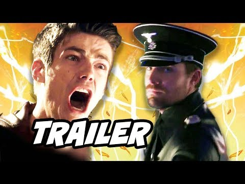 The Flash Season 4 Arrow Crossover Trailer - Evil Green Arrow and The Flash 4x06 Promo