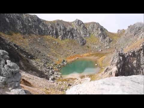 Timelapse of Yakedake Crater Lake
