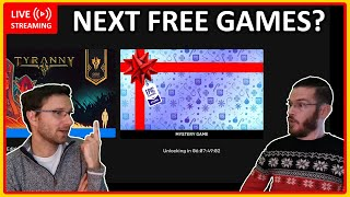 🔴 LIVE Reveal of next free games on Epic Games Store