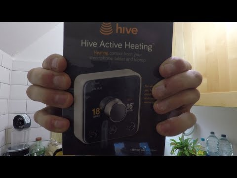 Installing a Hive Thermostat - (and smashing my iPhone...)