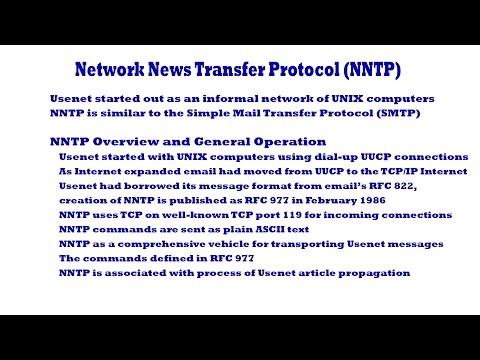 Network News Transfer Protocol (NNTP)
