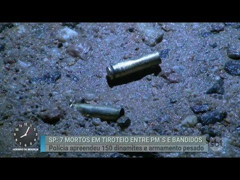 Tiroteio termina com sete mortos em Campinas, no interior de SP   Primeiro Impacto (01/03/18)