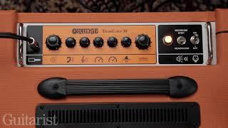 Orange Tremlord 30 1x12 Combo Demo
