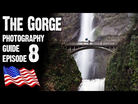 Landscape Photography USA - Columbia River Gorge 1of3, Latourell, Multnomah Falls and Oneonta Gorge