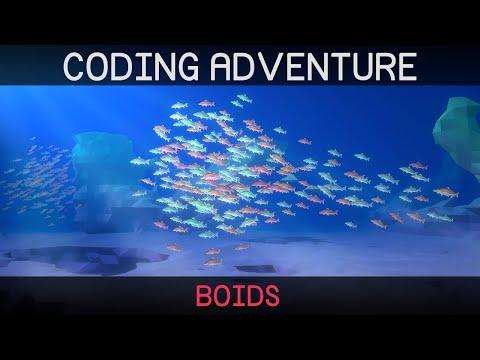 Coding Adventure: Boids