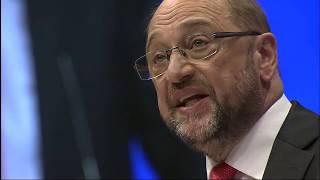 SPD-Parteitag: Marin Schulz und Gerhard Schröder als Wahlkampf-Dreamteam