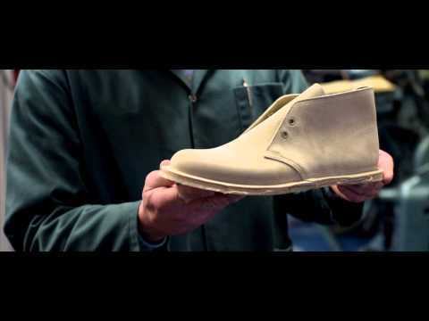 The Clarks Desert Boot Since 1950, Made in England