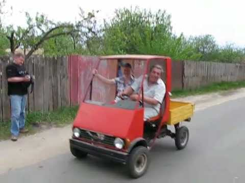 Мини-грузовики своими руками
